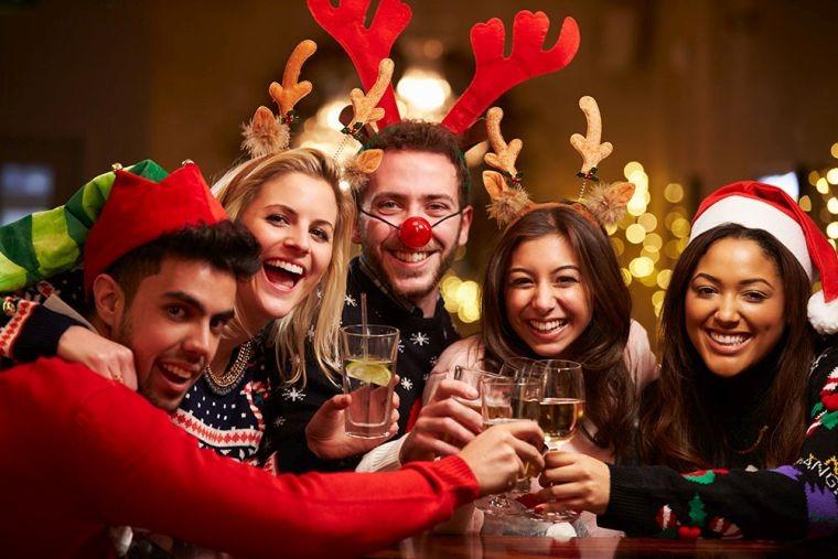 uegos de navidad reunion