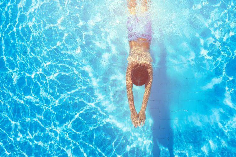 metabolismo basal nadar