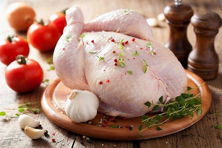 Productos que no debemos lavar carne-pollo