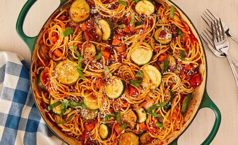 recetas vegetarianas pastas