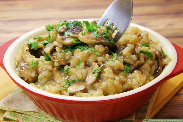 recetas vegetarianas risoto