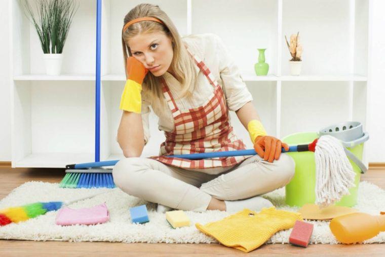 tareas del hogar acumulacion