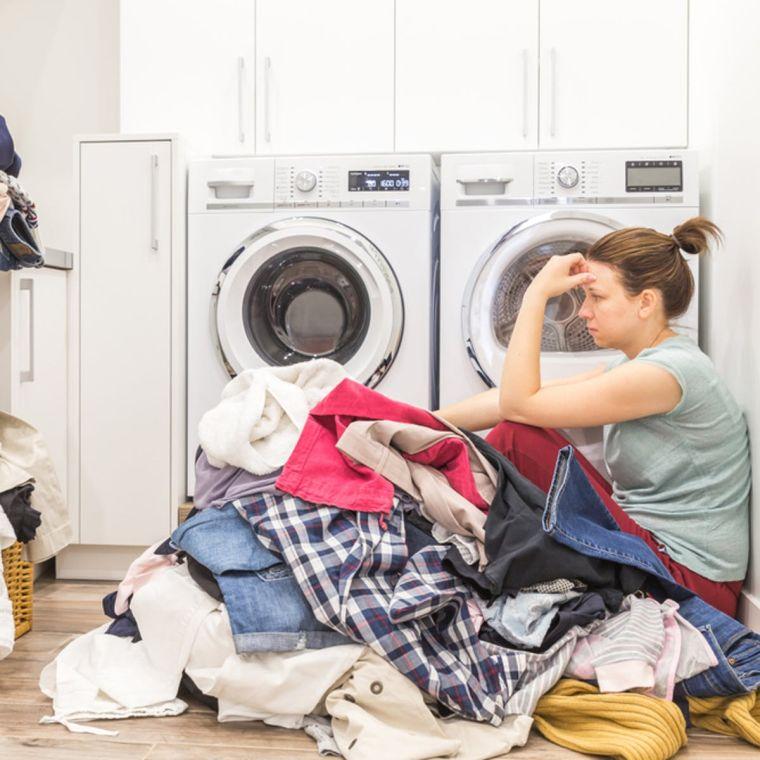tareas del hogar colada