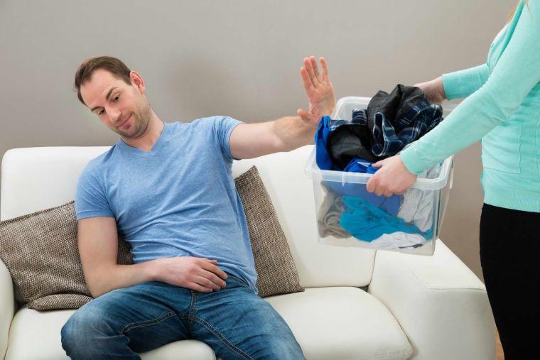 tareas del hogar pareja