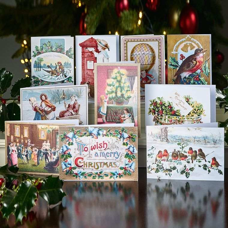 tarjetas de navidad altura
