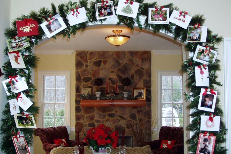 tarjetas de navidad arco