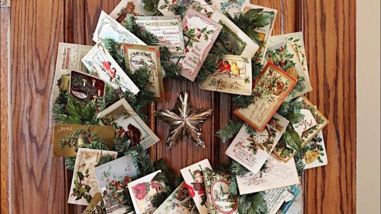 tarjetas de navidad corona