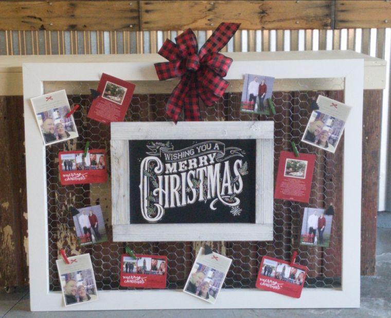 tarjetas de navidad cuadros