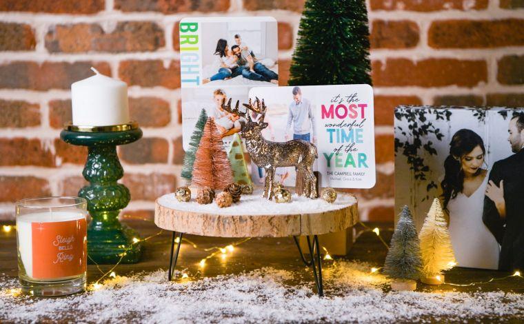 tarjetas de navidad escena