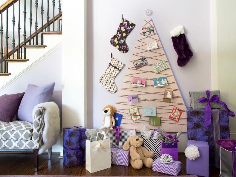 tarjetas de navidad madera