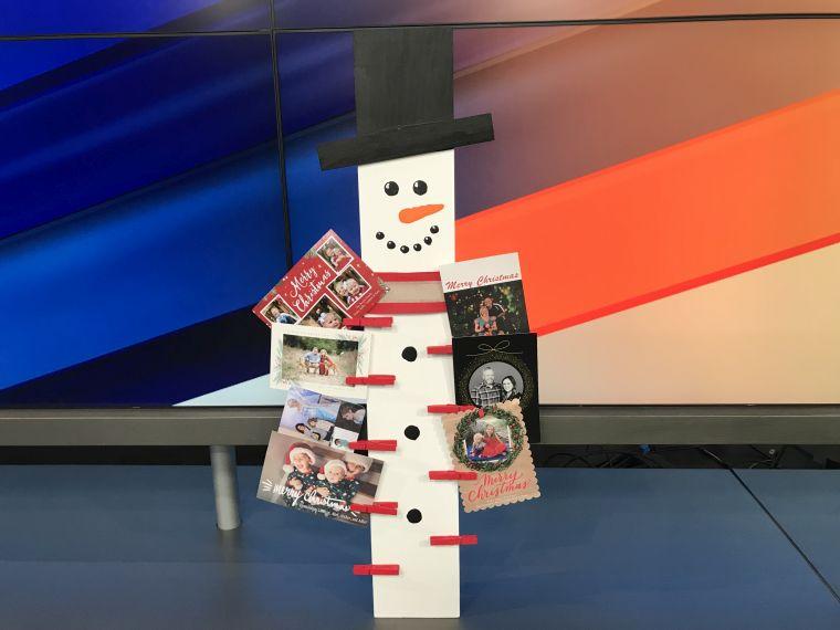 tarjetas de navidad muñeco