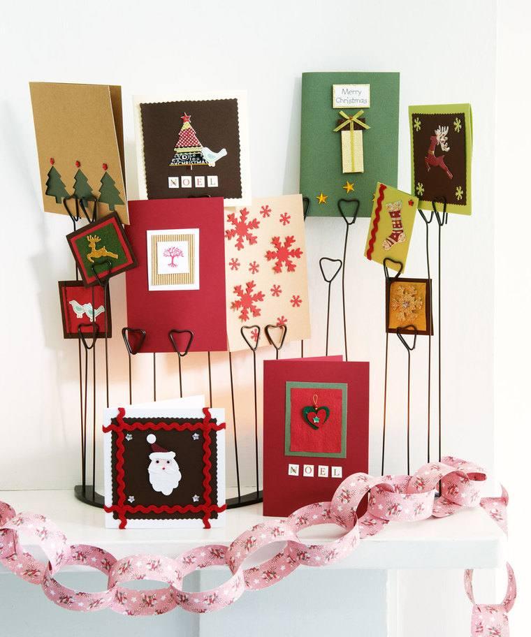 Tarjetas de Navidad – Originales maneras de incluirlas y mostrarlas en tu decoración navideña