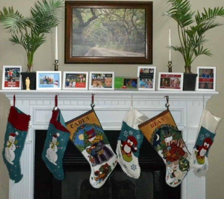 tarjetas de navidad repisaas