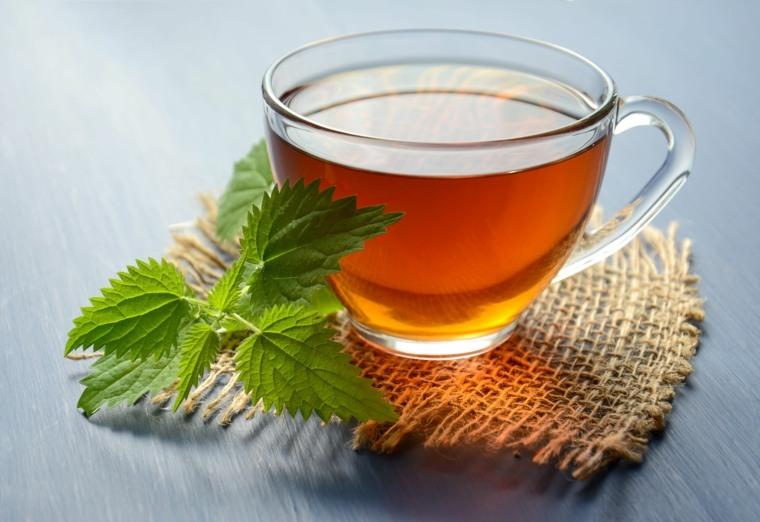 té con hierbabuena