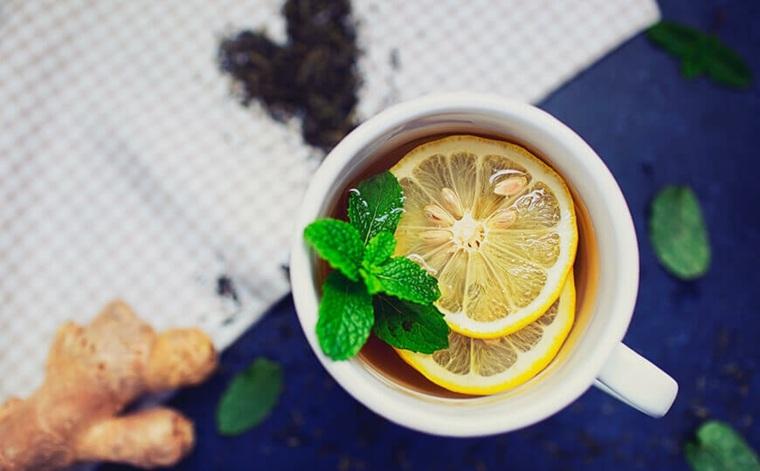 té de desintoxicación jengibre
