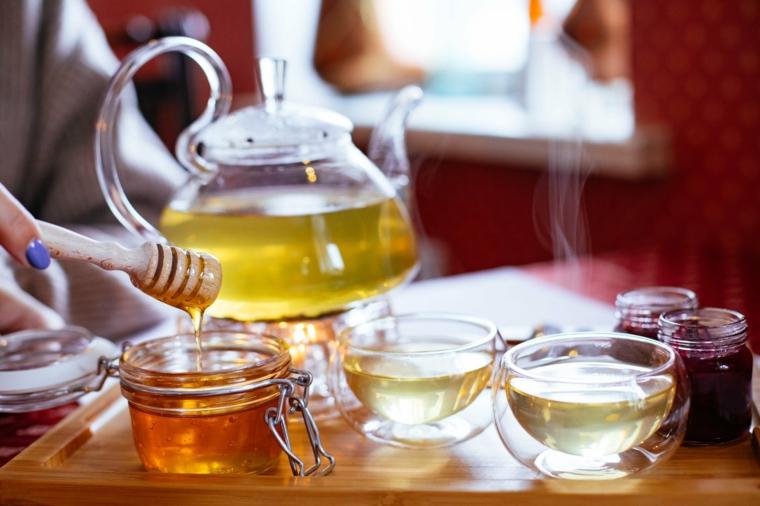 té de desintoxicación miel
