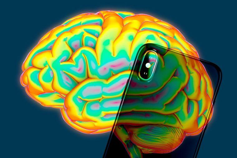 teléfono cerebro