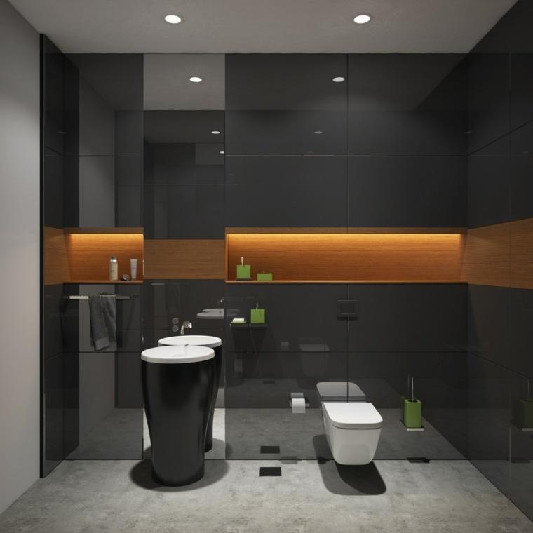 tendencias baños 2020-color-negro