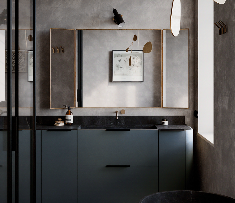 tendencias-banos-2020-moderno-lavabo-color-negro