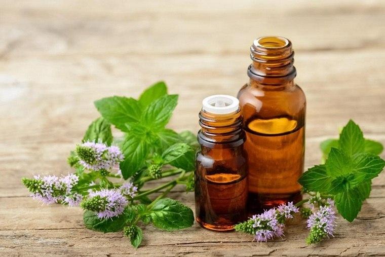 Aceites esenciales puros-flores-menta