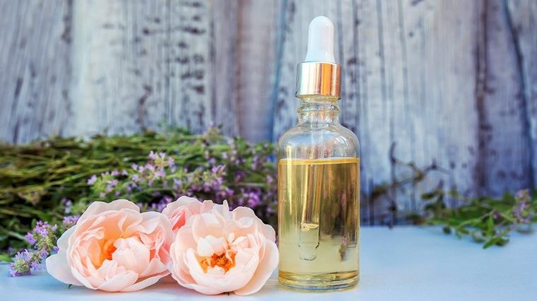 aceites esenciales puros-rosas