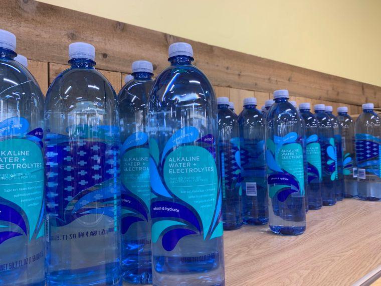 alcalinizar el cuerpo agua
