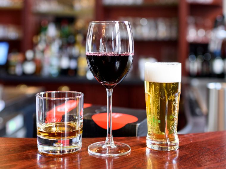 alcalinizar el cuerpo alcohol