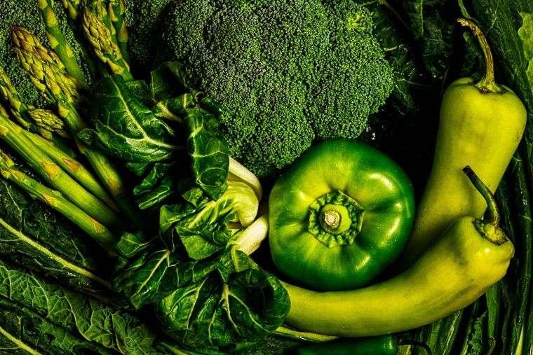 alcalinizar el cuerpo vegetales