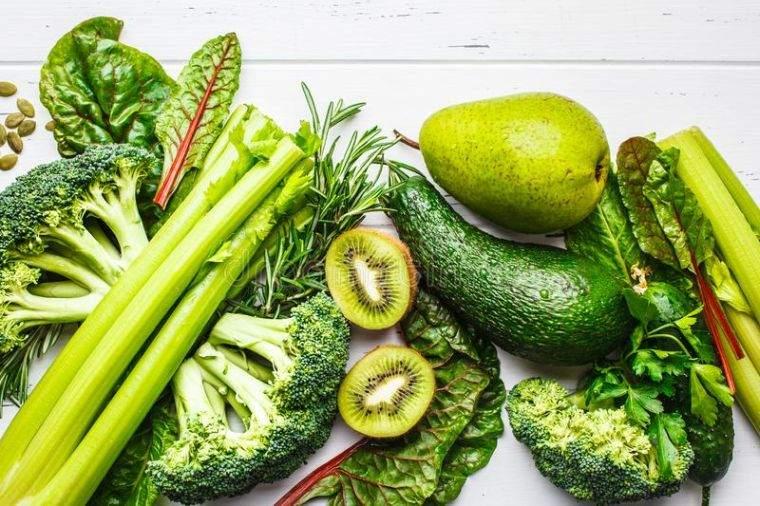 alcalinizar el cuerpo verde
