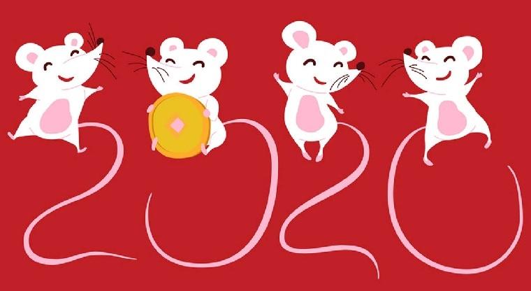 Año nuevo chino 2020-rata