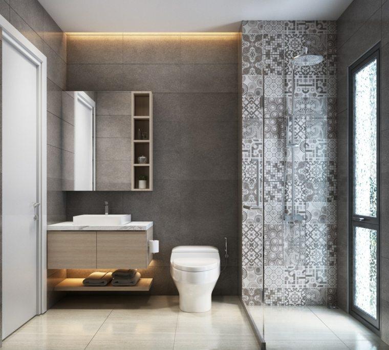 bano-mosaico-lavabo-iluminado-ideas
