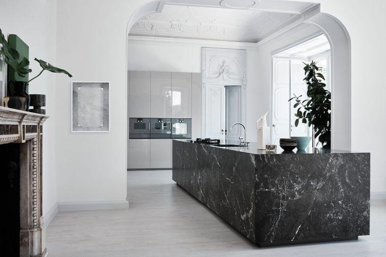 barra-cocina-diseno-isla-marmol