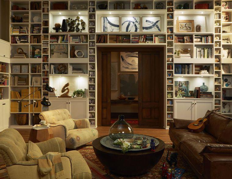 biblioteca en casa decoracion