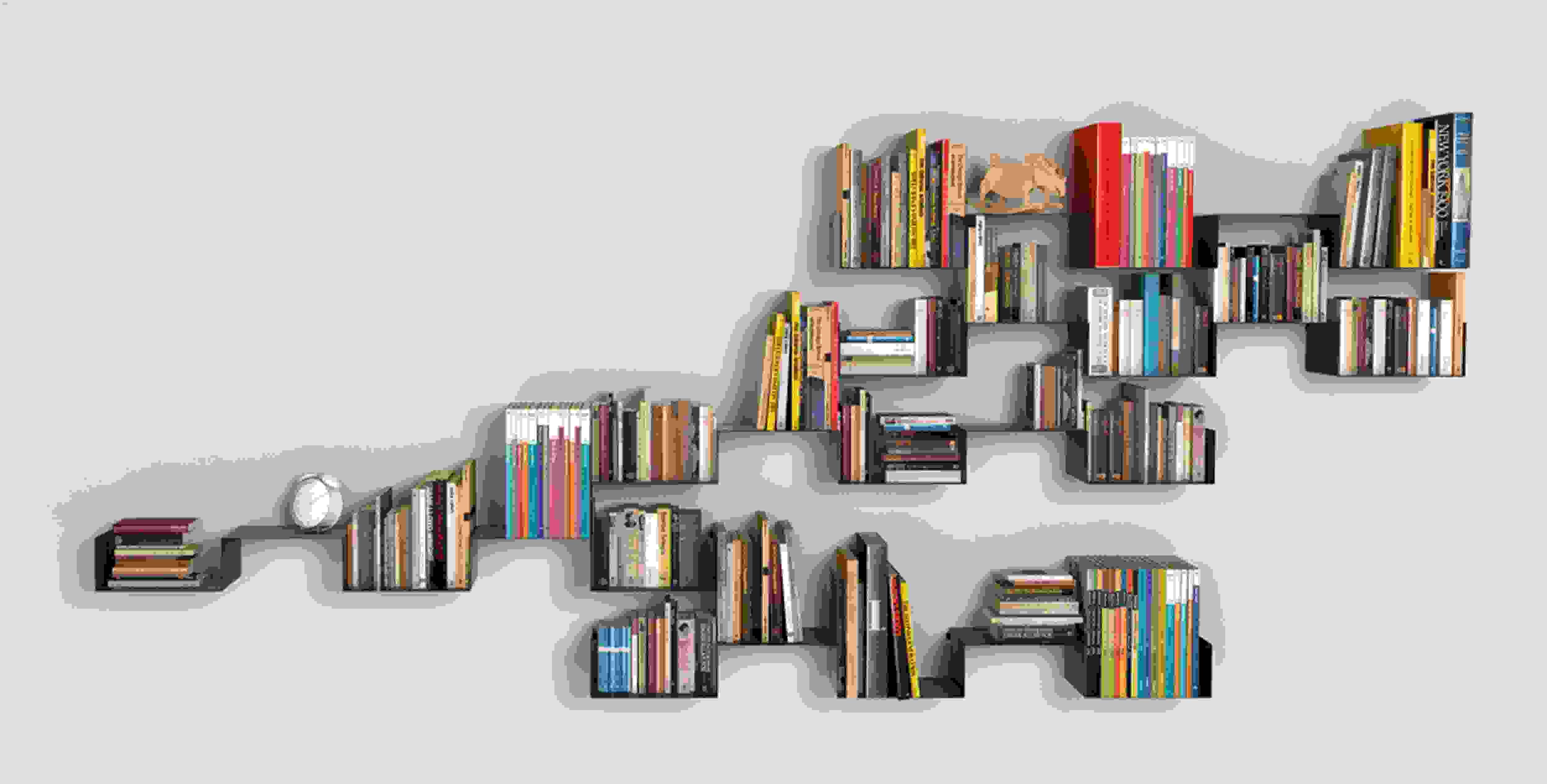 biblioteca en casa sencillo