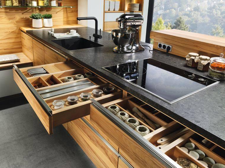 cajones de cocina organizado