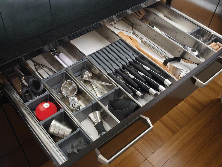 cajones de cocina separadores