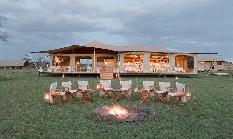 campamento itinerante carpa