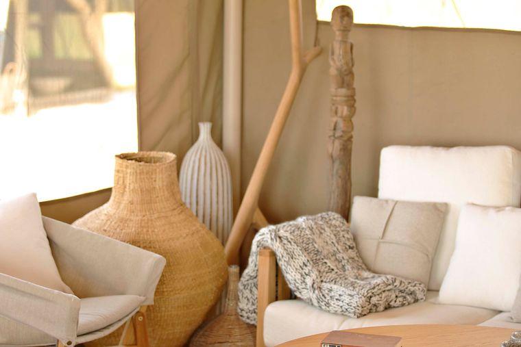 campamento itinerante decoracion