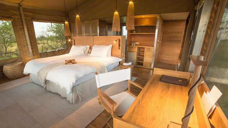 campamento itinerante dormitorio
