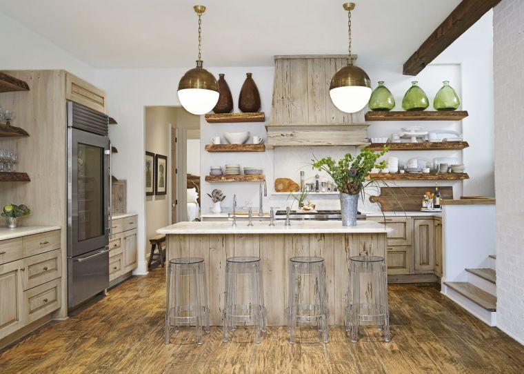 cocina-madera-ideas-estilo-contemporaneo