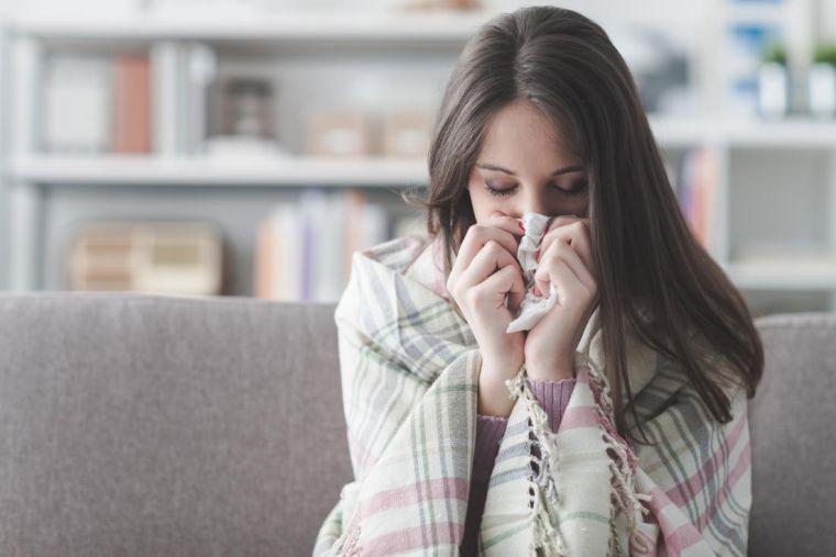 depurar el cuerpo resfriado