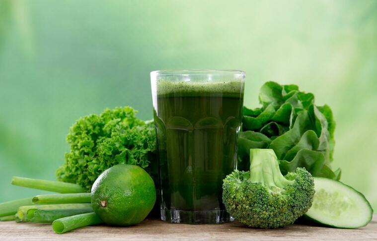 depurar el cuerpo verde