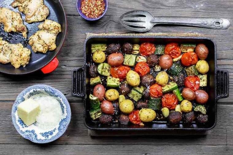 desayunos-rapidos-y-saludables-carne-verduras