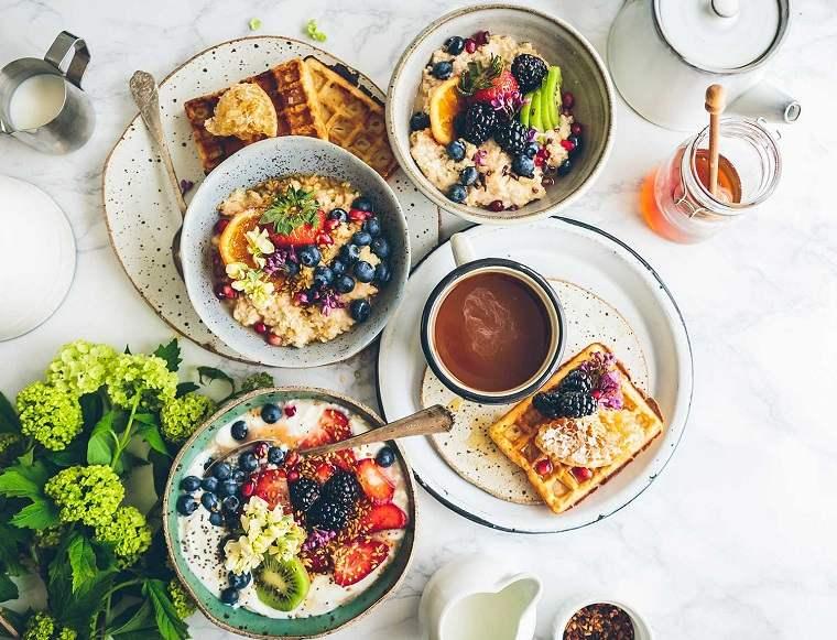 Desayunos rápidos y saludables-comer-bien