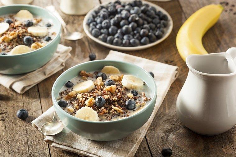 Desayunos rápidos y saludables-comer