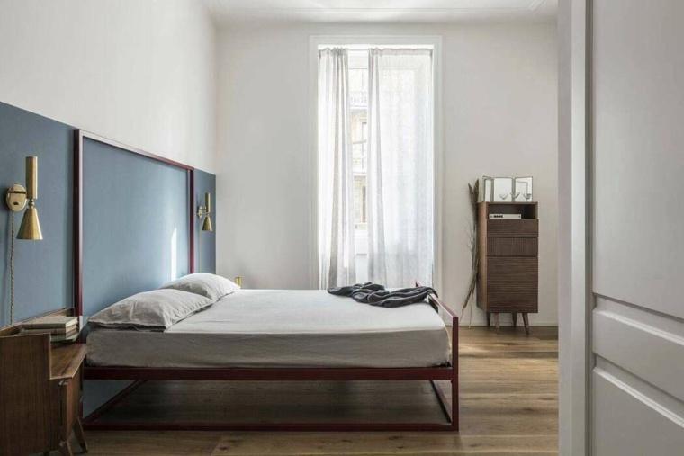 dormitorios de matrimonio 2020-minimalismo-moderno