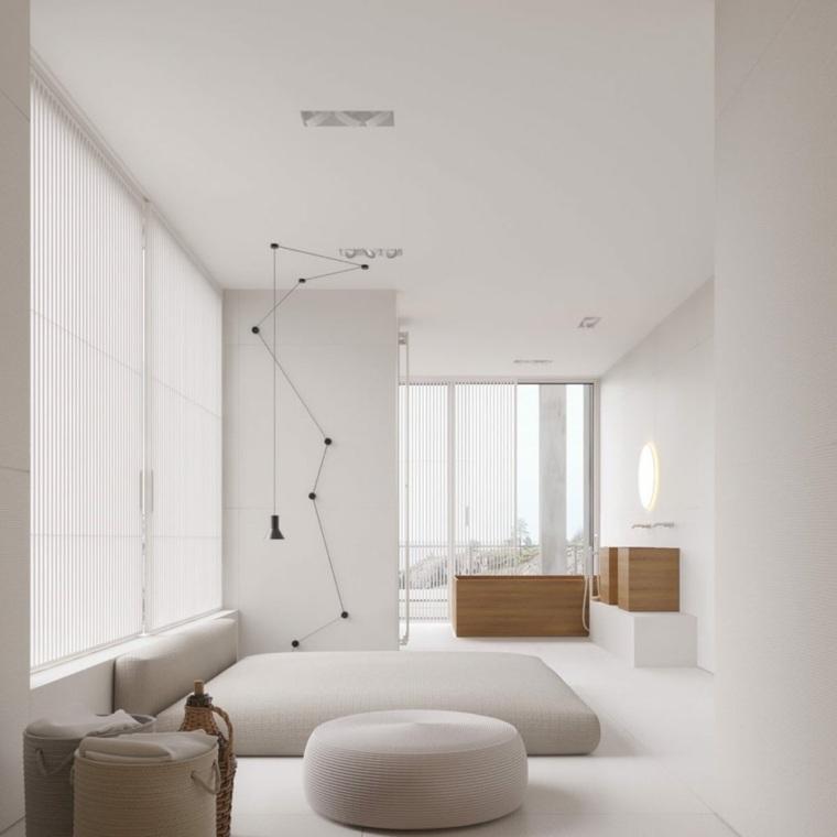 dormitorios de matrimonio 2020-minimalista