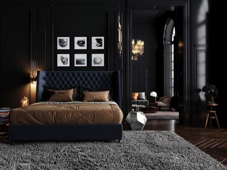 dormitorios-de-matrimonio-2020-pared-negra-ideas