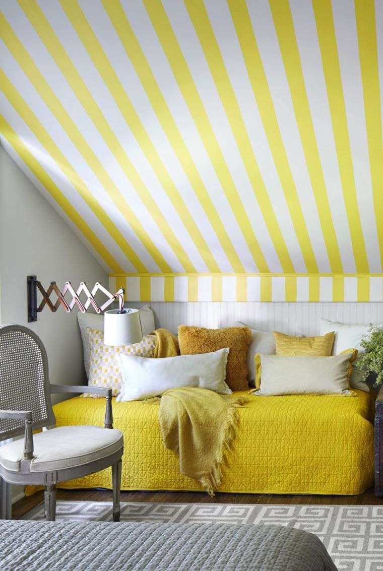 dormitorios juveniles 2020-adolescente-amarillo