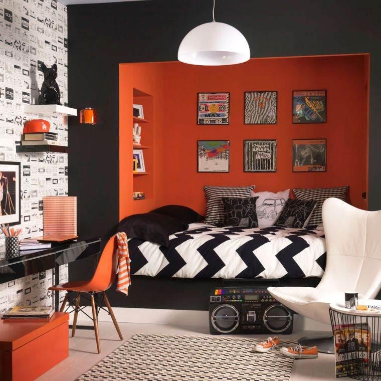 dormitorios-juveniles-2020-adolescente-color-naranja